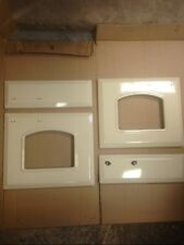 set! 4x NEW CREAM DOOR SKINS PANELS to fit RANGEMASTER 110cm classic genuine