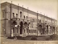 Egipto El Cairo Isla Gezira (Gezireh) Palacio Foto Bonfils Vintage Aprox 1875