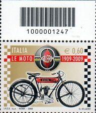 2009 francobollo Le Moto: Gilera CON CODICE A BARRE 1247