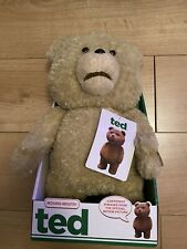 Ted Talking Moving Mouth Bear - Amazing Brand New Condition!!