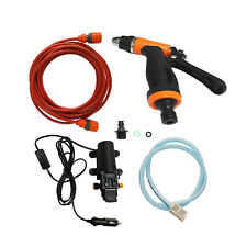 Portable DC 12V High Pressure Car Washer Wash Pump Set With Car Charger