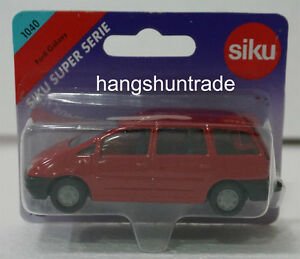Siku Super 1040 Ford Galaxy MPV Multi-purpose Vehicle Model