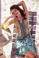 Anthropologie Moana Silk Embroidered detail  Dress By Hemant & Nandita SZ:S $228