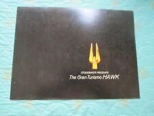 0802s   1962 Studebaker Gran Turismo Hawk sales brochure