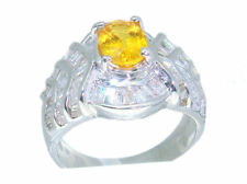 2.31ct Zafiro & Diamante Anillo en 18ct Oro Blanco