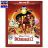 INCREDIBLES 2 Blu-ray 3D + 2D (REGION-FREE)