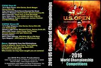 2016 U.S. Open ISKA World Karate Championships DVD over 2 and a half hours long