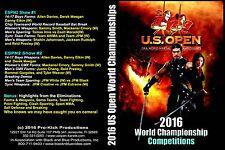 2016 U.S. Open ISKA World Karate Championships DVD over 2 and a half hours long