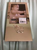 "Vintage Burnes Photo Frame Baby holds 3 1/2"" x 5"" Photo"