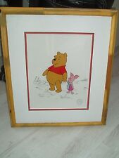 """WINNIE THE POOH & PIGLET ANIMATION SERICEL CALLED """"TWO BEST FRIENDS"""" PIGLET"""