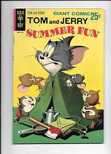 Tom And Jerry Summer Fun #1 July 1967 Gold Key Giant Comic