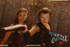 RESIDENT EVIL 4 - AFTERLIVE - Lobby Cards Set + HUGE Cards Milla Jovovich HORROR
