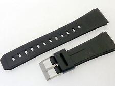 # p808 # relojes pulsera PVC plástico Goma compatible con relojes casio 22/25 mm
