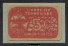 Tennessee Ammunition Revenue Tn Am60 mint, Vf