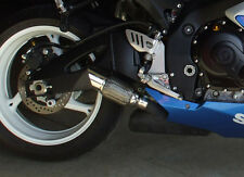 2008 2009 2010 GSXR 600-750 slip on RLS Exhaust Chaos  Series polished
