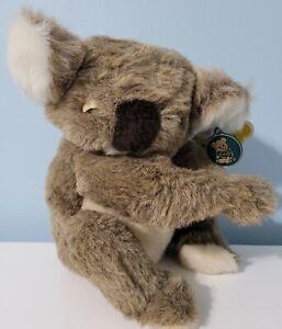 "VINTAGE 1981 DAKIN PILLOW PETS 10"" QUINCY KOALA BEAR PLUSH STUFFED TOYS W/ Tags"
