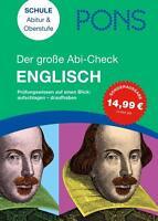 PONS Der große Abi-Check Englisch von Elisabeth Mäule (2012, Taschenbuch)