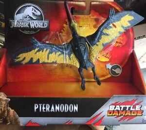 PTERANODON - Jurassic World Park Battle Damage Dinosaur