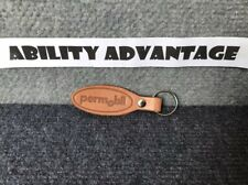 NEW: Permobil Leather Key Fob and Ring.