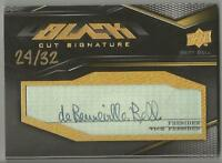 Bert Bell 2009 UPPER DECK BLACK CUT SIGNATURE AUTO CARD #/32 SIGNED Commissioner
