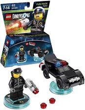 LEGO DIMENSIONS LEGO MOVIE Bad Cop Minifigure 3 in 1 Fun Pack Set  #71213 NIB