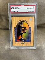 KOBE BRYANT⚡️1996-97 Upper Deck UD3 #19 Rookie PSA 10 GEM MINT RC🔥Lakers HOT