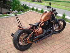 170 mm x 650 mm breiter runder Bobber Stahlfender für Yamaha Dragstar XVS