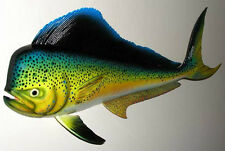 "Dolphin Mahi Mahi Dorado Fish Mount 28"" X 12""  New Wall Plaque Replica"