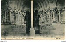 CPA -Carte postale-  France - Candes - L'église, portail principal - 1909 (CP999
