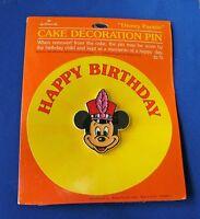 Hallmark PIN Vintage MICKEY MOUSE DISNEY PARADE Cake DECORATION RARE