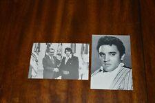 Elvis Presley Postcards - Vintage - Nixon and Headshot