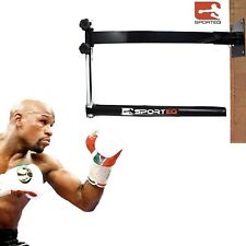 MMA Boxing Fitness Training Punching Spinning Slam Bar Adjustable Wall Mounted