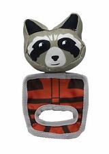 Marvel Comics ROCKET RACOON PULL & PLAY SQUEAKY OXFORD DOG TOY - pet chew toy