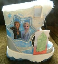 Frozen girls toddler size 7M adjustable winter boots w/lighted bottoms