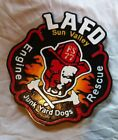 Fire Department LAFD 77 Sun Valley 3D routed wood patch plaque sign Custom