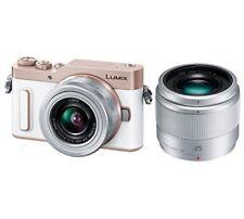 Panasonic mirrorless single-lens Lumix GF10 double lens kit white DC-GF10W-W F/S