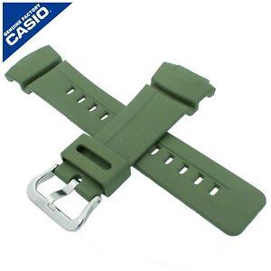 Genuine Casio Watch Strap Band for G-100CU-3A G 100CU 100 CU GREEN 10543943
