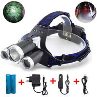 T6 Led Headlight Headlamp Flashlight Head Camping Hiking 18650 Light Lamp Torch