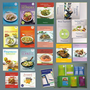 Weight Watchers Starterset Waage Backform Bücher u.v.m. ProPoints Programm