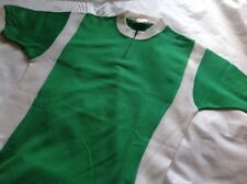 FRENCH - BRIGHT GREEN - WHITE - L'EROICA JERSEY SHORT SLEEVE - RETRO 80s SIZE L