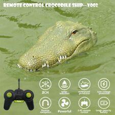 Flytec V002 2.4G Remote Control Electric Racing Boat Crocodile Head Rc Toys P1