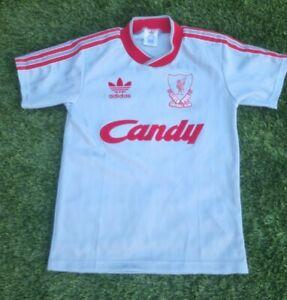 Childs Retro Liverpool Shirt 88/89 season 30/32 'Large Boys'