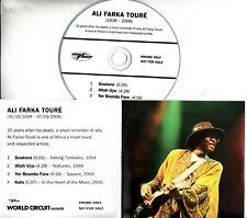 ALI FARKA TOURE 1939-2006 Sampler 2016 UK 4-track promo only CD