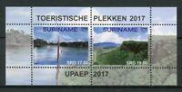 Suriname 2017 MNH UPAEP Tourism Brokopondo 2v M/S Nature Landscapes Stamps