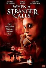 When a Stranger Calls (DVD, 1979, Widescreen) BRAND NEW Carol Kane