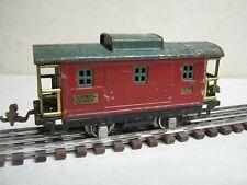 """1923-40 LIONEL """"0"""" GAUGE  LIONEL LINES """" # 807 RED CABOOSE-FOR RESTORATION!"""