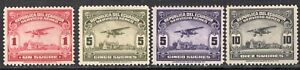 ECUADOR 1930/44 AIR MAIL STAMP Sc. # C 26 AND C 28/30 MH