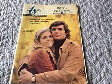 Detroit Free Press TV Channels Magazine TV Guide 10/22/72 Bridget Loves Bernie