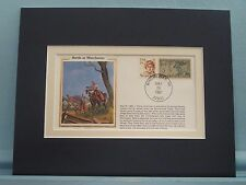 1862 - Stonewall Jackson wins at Winchester & commemorative envelope