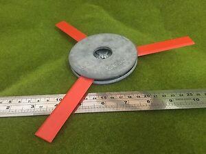 3 Swing Blade Zinc Trimmerhead  plastic blades fits electric & bent shaft cutter